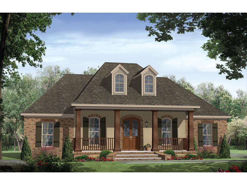 Wellshire One-Level Home Plan 077D-0156 | House Plans and More