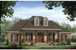 Grand, Formal Southern Plantation Design With Exquisite Style