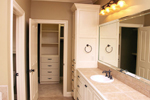 European House Plan Master Bathroom Photo 01 - 077D-0159 | House Plans and More