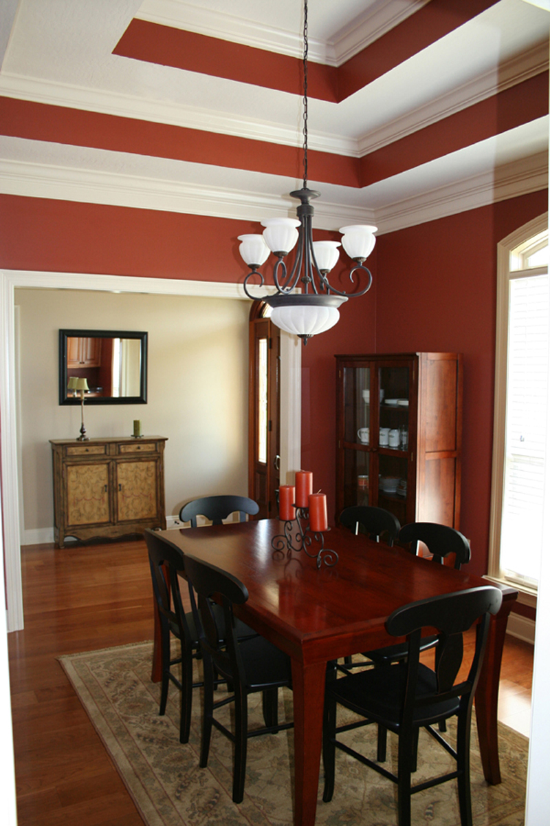 European House Plan Dining Room Photo 01 077D-0161