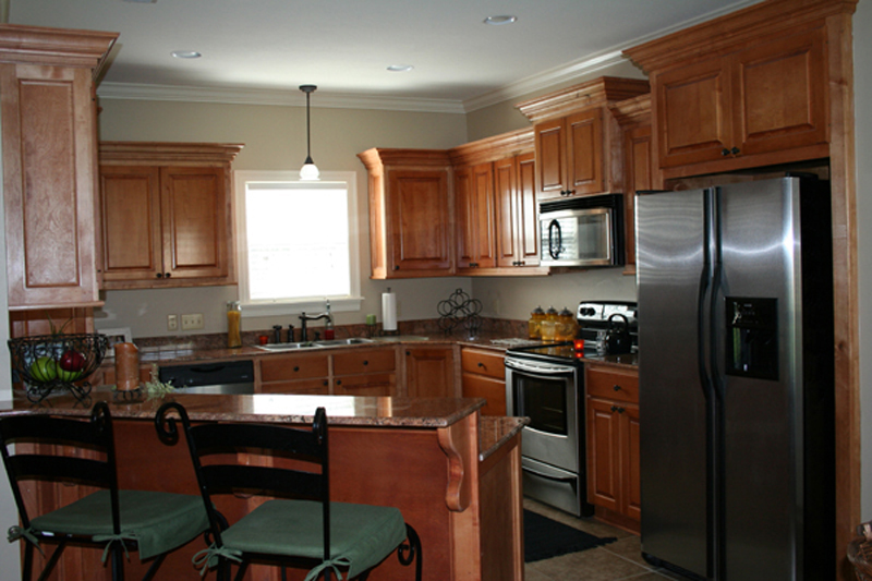 European House Plan Kitchen Photo 02 077D-0161