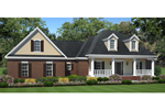 High Styled Ranch Home Has Country Flair With Twin Dormers