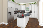 Cabin & Cottage House Plan Kitchen Photo 01 - 077D-0187 | House Plans and More