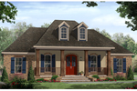 Country House Plan Front of Home - 077D-0217 | House Plans and More