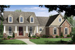 Traditional House Plan Front of Home - 077D-0225 | House Plans and More