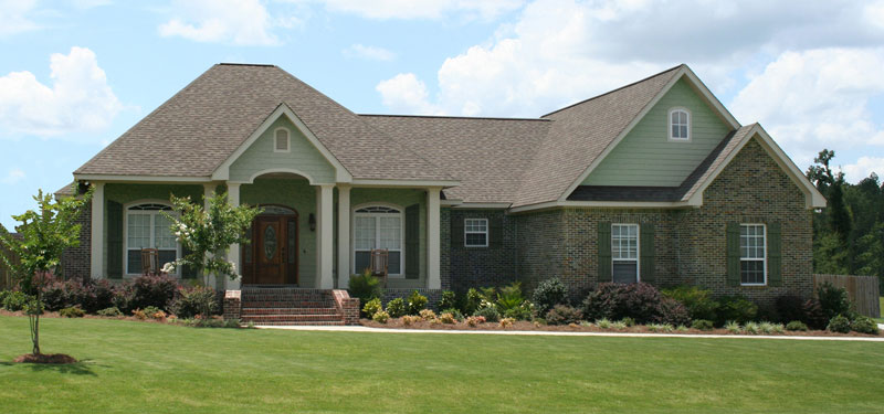 Ranch House Plan Front of Home - 077D-0226 | House Plans and More