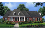 Ranch House Plan Front Image - 077D-0227 | House Plans and More