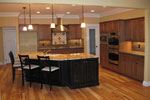 Craftsman House Plan Kitchen Photo 02 - 077D-0227 | House Plans and More