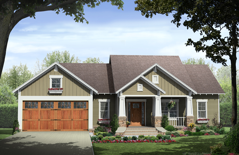 country house plan front of home 077d 0250 house plans and more - Country Home Plans