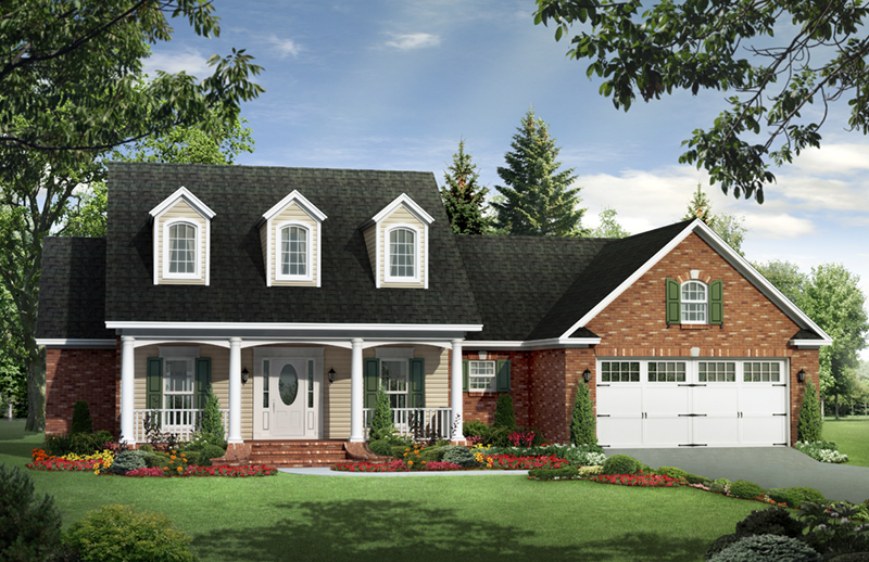 carter hill country farmhouse plan 077d 0255 house plans