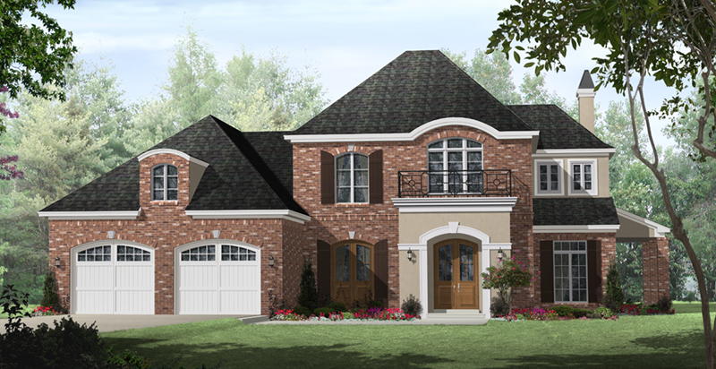 Andover lane european home plan 077d 0280 house plans for French country european house plans