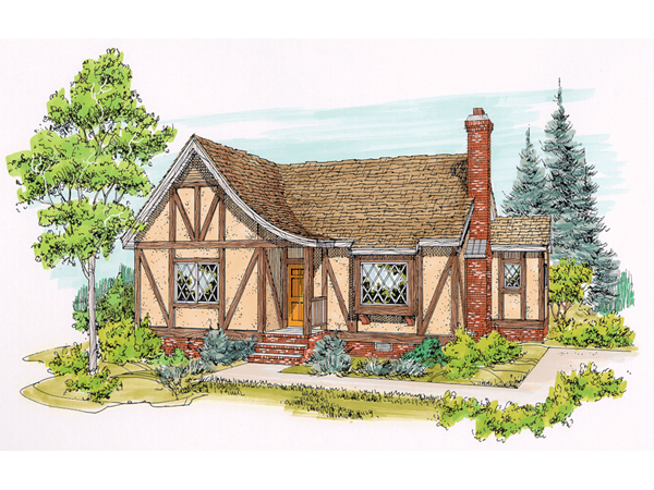 English Tudor Small House Plans submited images