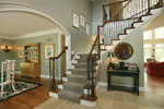 Luxury House Plan Foyer Photo - 079D-0001 | House Plans and More