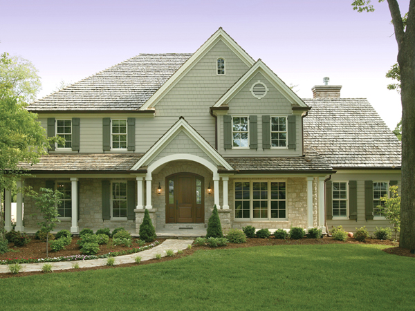 luca traditional home plan 079d 0001 house plans and more - Traditional House Plans