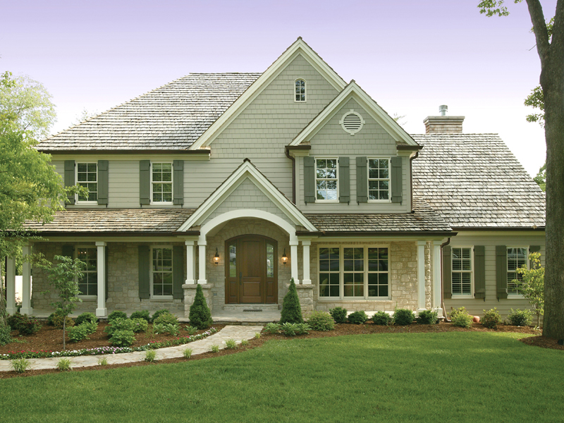 Traditional Two Story Home With Subtle Craftsman Influence
