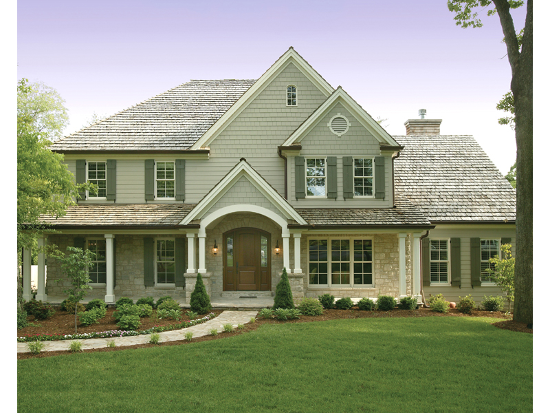 Arts and Crafts House Plan Front Photo 01 079D-0001