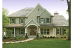 Luxury House Plan Front Photo 01 - 079D-0001 | House Plans and More