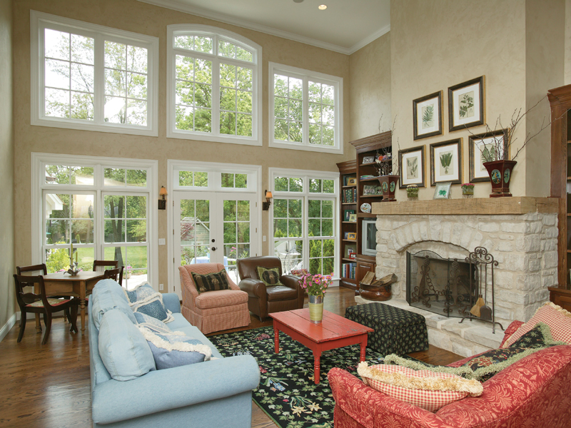 Southern House Plan Great Room Photo 01 079D-0001