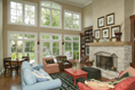 Craftsman House Plan Great Room Photo 01 - 079D-0001 | House Plans and More