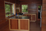 A-Frame Home Plan Kitchen Photo 02 - 080D-0001 | House Plans and More