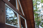 A-Frame House Plan Window Detail Photo - 080D-0001 | House Plans and More