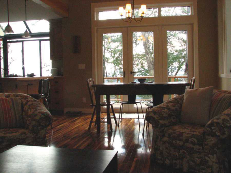 Cabin and Cottage Plan Dining Room Photo 01 080D-0003