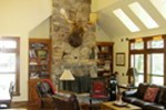 Mountain Home Plan Family Room Photo 02 - 080D-0003 | House Plans and More