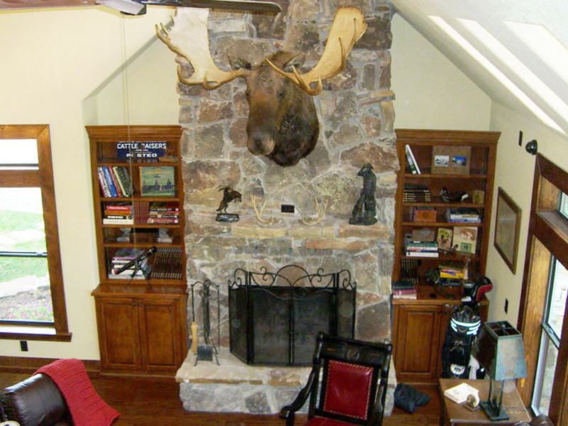 Mountain Home Plan Family Room Photo 03 080D-0003