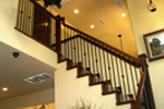 Rustic Home Plan Stairs Photo - 080D-0003 | House Plans and More