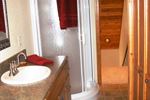 Cabin and Cottage Plan Bathroom Photo 02 - 080D-0004 | House Plans and More