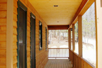 Cabin and Cottage Plan Deck Photo 01 - 080D-0004 | House Plans and More