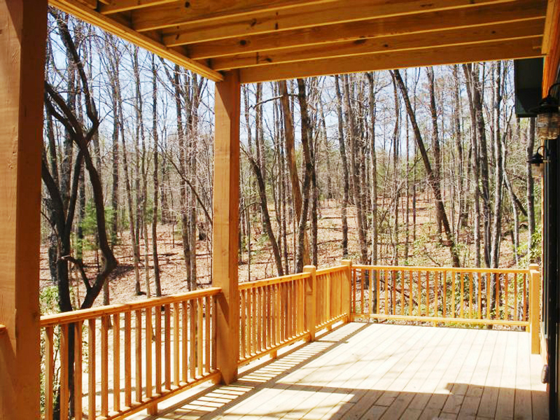 Vacation Home Plan Deck Photo 02 080D-0004