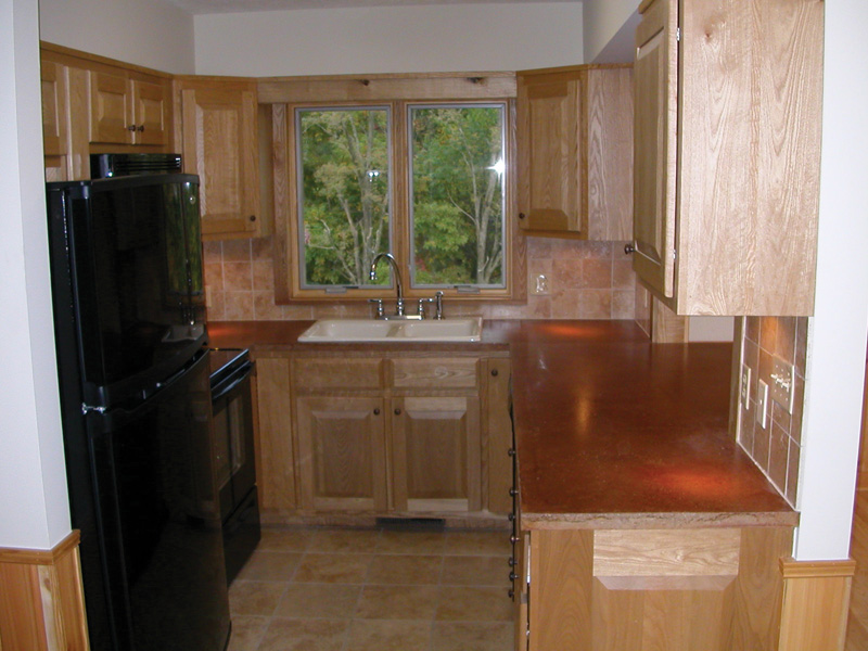 Vacation Home Plan Kitchen Photo 04 080D-0004