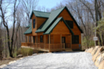 Cabin and Cottage Plan Side View Photo 01 - 080D-0004 | House Plans and More