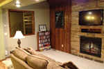 Lake House Plan Family Room Photo 02 - 080D-0007 | House Plans and More