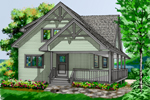 Country House Plan Front Image - 080D-0007 | House Plans and More
