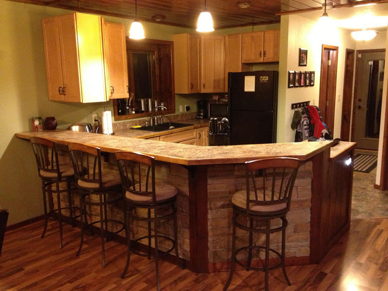 Lake House Plan Kitchen Photo 05 - 080D-0007 | House Plans and More