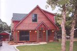 Cabin and Cottage Plan Front Photo 01 - 080D-0008 | House Plans and More