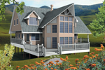Modern And Contemporary Styled Design With Steep Gables
