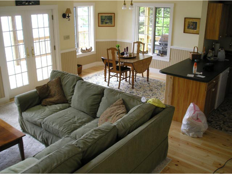 Ranch House Plan Family Room Photo 03 - 080D-0012   House Plans and More