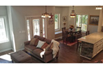 Ranch House Plan Family Room Photo 04 - 080D-0012   House Plans and More