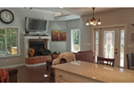 Ranch House Plan Family Room Photo 05 - 080D-0012   House Plans and More