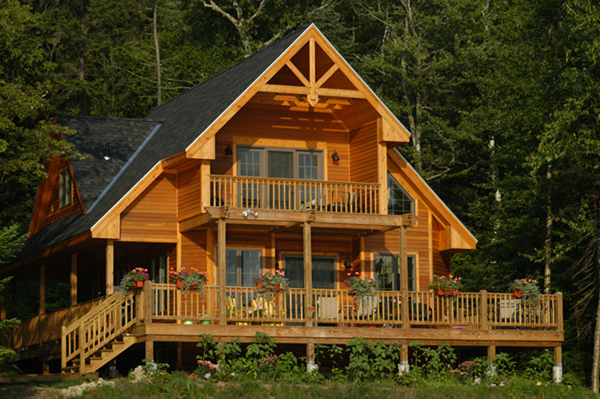 adirondack rustic dream home plan 080d 0012 house plans On adirondack cabin plans