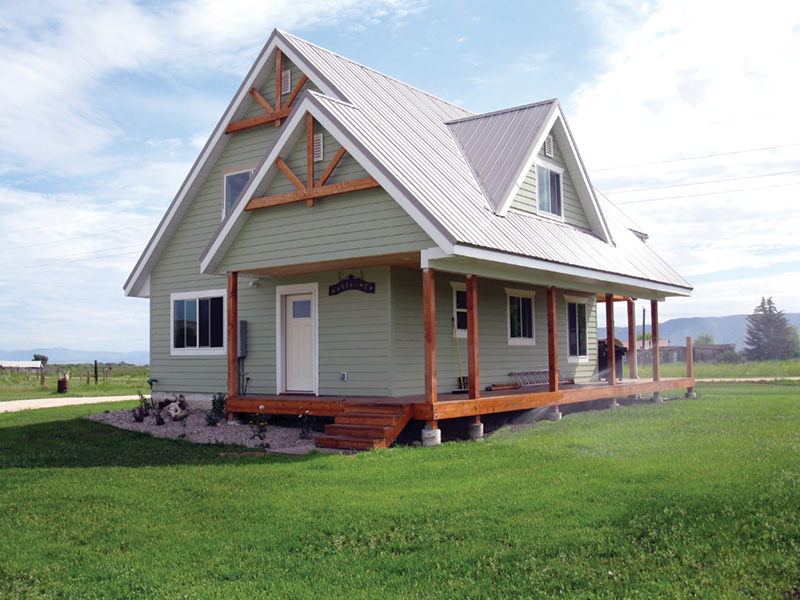 Ranch House Plan Front Photo 02 080D-0012