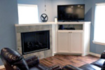 Ranch House Plan Great Room Photo 01 - 080D-0012   House Plans and More