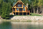 Ranch House Plan Lake Photo - 080D-0012   House Plans and More