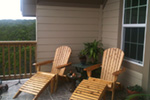 Ranch House Plan Patio Photo - 080D-0012   House Plans and More