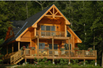 Ranch House Plan Rear Photo 08 - 080D-0012   House Plans and More