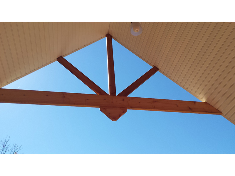 Ranch House Plan Roof Detail  - 080D-0012   House Plans and More