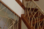 Ranch House Plan Stairs Photo - 080D-0012   House Plans and More